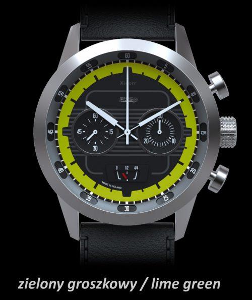 Xicorr F125P AKROPOLIS Lime Green X0501-1ZG