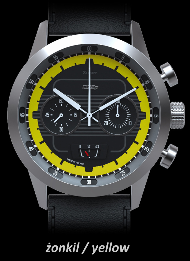 Xicorr F125P AKROPOLIS Yellow X0501-2Y