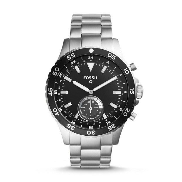 Fossil Q Crewmaster Hybrid Watch FTW1126